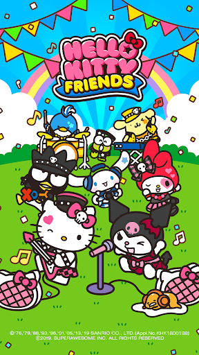 Hello Kitty Friends - Tap & Pop, Adorable Puzzles  captures d'écran 1