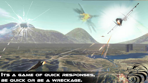 戦闘機はチェイス3Dの空中戦