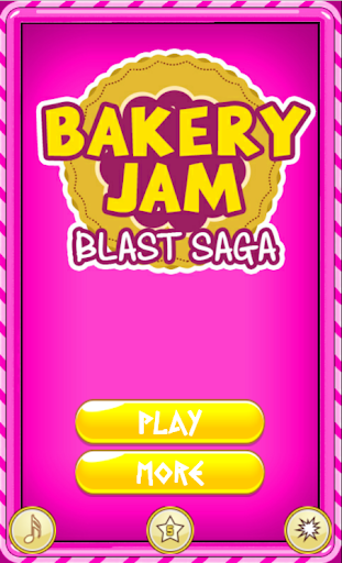 Bakery Jam Blast Saga