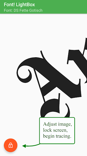 Font! Lightbox tracing app  Wallpaper 19