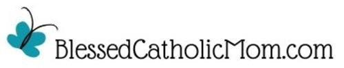 Blessed Catholic Mom logo