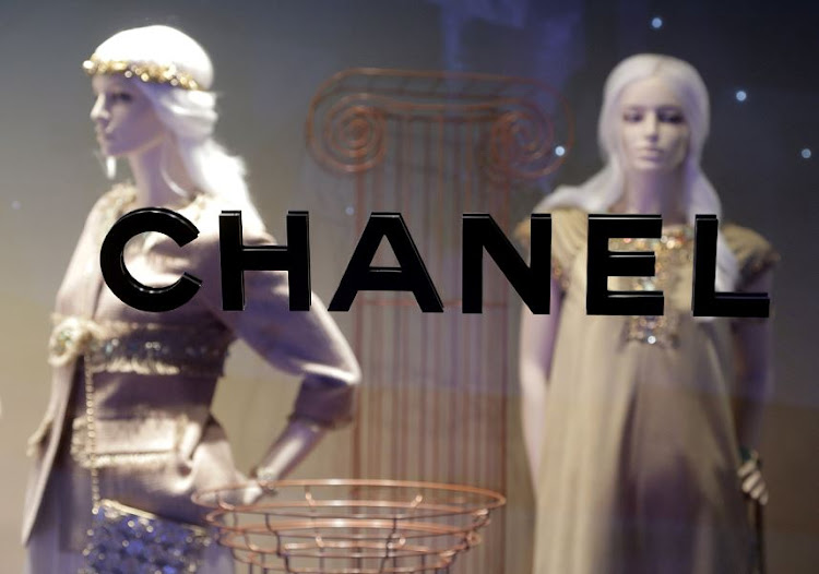 The Chanel logo is seen on a window front at the company's store in Monte Carlo, Monaco. File photo: REUTERS