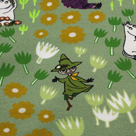 Moomin Bomullstrikå - grön
