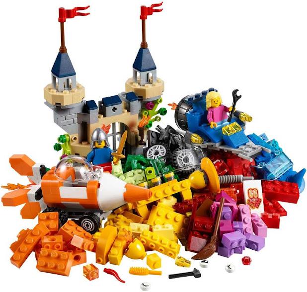 Contenido de Lego® 10404 Fondo del Océano