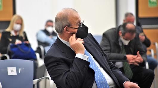 Juan Enciso antes de declarar