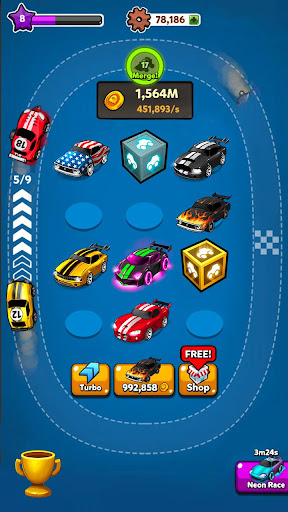 Merge Battle Car: Best Idle Clicker Tycoon game screenshots 11