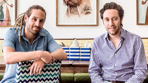 Mama Money co-founders Mathieu Coquillon and Raphael Grojnowski.