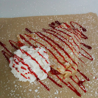(RED) Berry Cheesecake Crepe