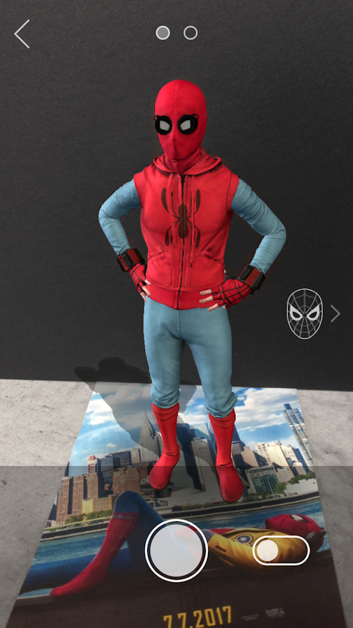 The SpiderMan Homecoming App Android Apps On Google Play - Awesome video baby spiderman dancing