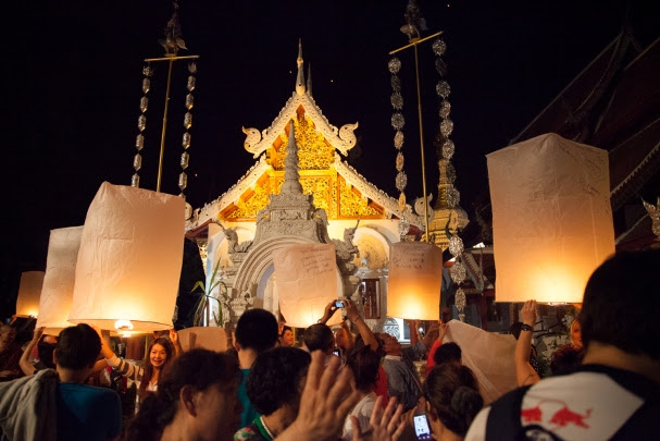 Passagem de ano em Chiang Mai