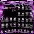 Purple diamond launcher Theme file APK Free for PC, smart TV Download
