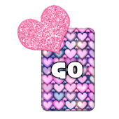 GO KB SKIN - Love Hearts 2