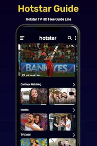 Hotstar Live Show screenshot 1