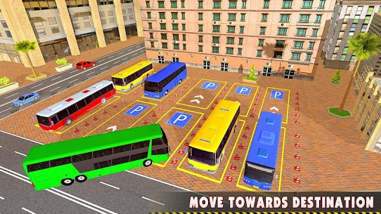 Modern Bus Drive 3D Parking new Games-FFG Bus Game 8