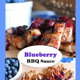 Smoky Sweet Blueberry BBQ Sauce