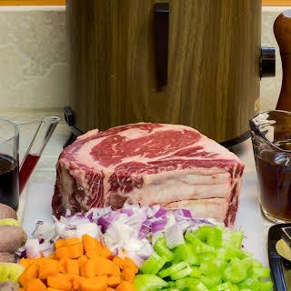 Beef Rib Roast Crock Pot Recipes.