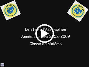 Video: Step 2008/09 Classes de 6è Durée : 8min20