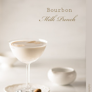 Bourbon Milk Punch.