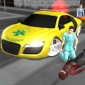 Crazy Driver Ambulance Duty 3D icon