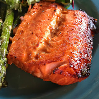 Broiled Teriyaki Salmon.