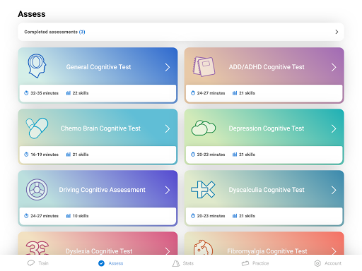 CogniFit Brain Fitness 4.1.3 screenshots 7