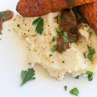 Creamy Garlic Cauliflower Mash.