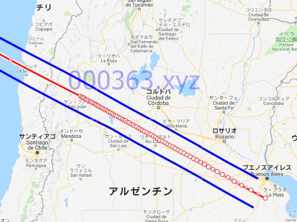 2019/07/02皆既食帯ルート