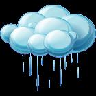 Weather and rain icon