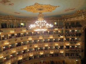 Photo: VENEDIG / Teatro La Fenice. Innenraum. Foto: Dr. Klaus Billand