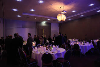Photo: Gala dinner and C4F awards ceremony - about to begin...