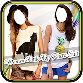 Women Tank Tops Photo Suit