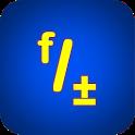 "Fraction Calculator ""Fractal MK-12"" icon"