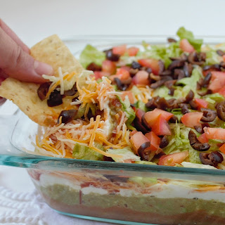 7 Layer Bean Dip Without Guacamole Recipes.