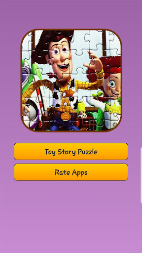 Toy Story Puzzle Games Screenshot