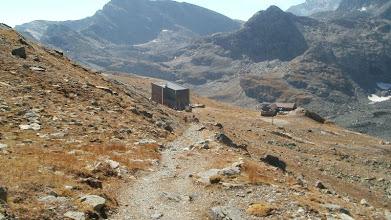 Photo: Vecchio e nuovo rifugio Gastaldi