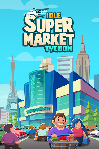 Idle Supermarket Tycoon - Jeu de gestion  captures d'écran 1