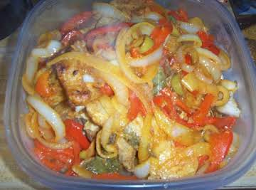 MARINATED BLUE FISH- ESCABECHE DE PESCADO