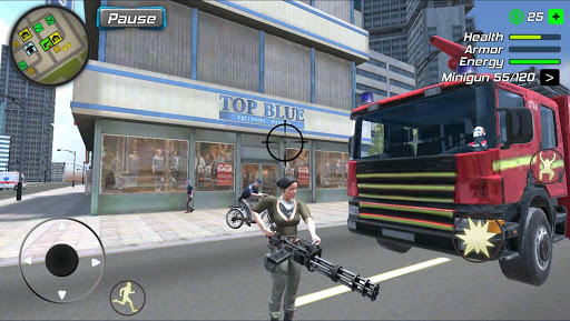 Super Miami Girl : City Dog Crime 1.0.2 screenshots 19