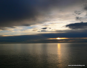 Photo: Puget Sound sunset