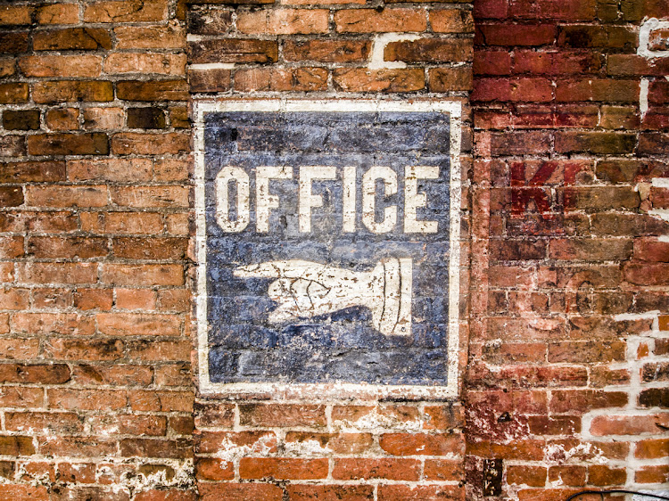 This way for the office of the future: have you considered co-working? Picture: ISTOCK