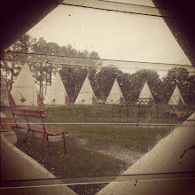 Photo: view from our wigwam window