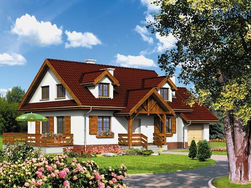 projekt Dom przy Szarotek