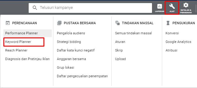 Cara Optimasi Keyword Dengan Google Keyword Planner Tanpa Beriklan