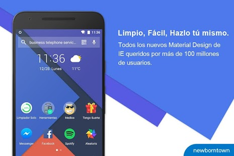 Solo Launcher-Limpio,Liso,DIY Screenshot