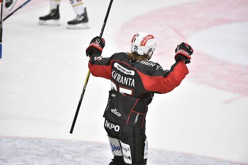 Sport spelade i ny spelskjorta i hemmamötet mot Kärpät.