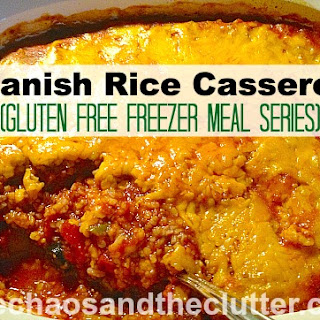 Spanish Rice Casserole (Gluten Free Freezer Meal Series) Recipe