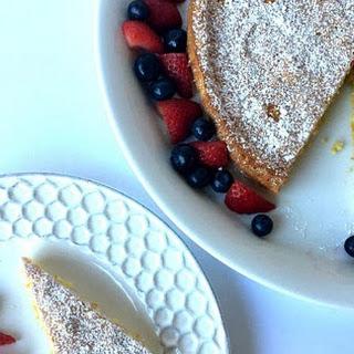Gluten-Free Lemon Almond Flour Cake