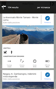 hikeTicino – Miniaturansicht des Screenshots