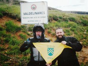 Photo: Miguel Luzón y Roberto Tornos en Valdelinares, Municipio más alto de España. (fotografía enviada por Paco Roche)