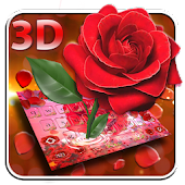 Elegant Rose Garden 3D Keyboard Android APK Download Free By Mobile Themes By Pixi